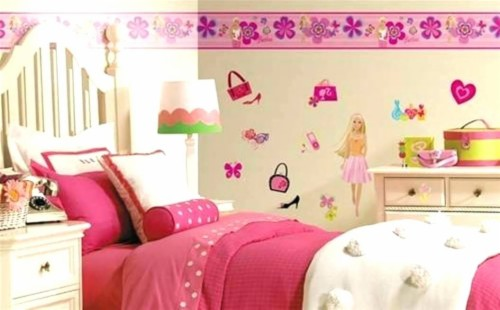 Wallpaper Borders For Girls Bedroom Pink Wall Borders ...