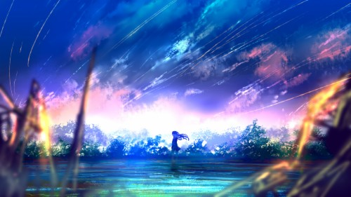 Wallpaper Anime Scenery Wallpaper For Laptop 155444 Hd Wallpaper Backgrounds Download
