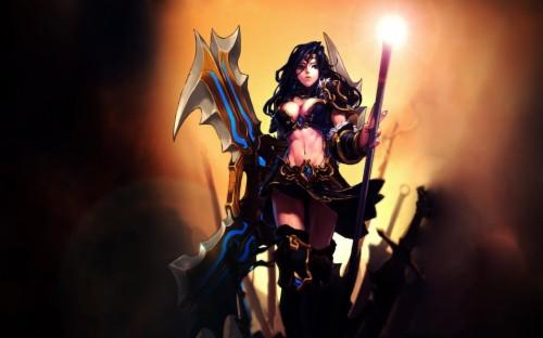 Free Sivir High Quality Wallpaper Id Warrior Princess