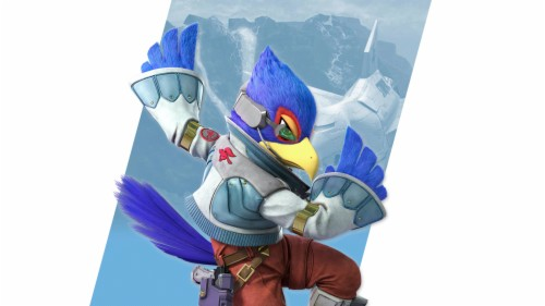 Super Smash Bros Ultimate Falco Png 1509699 Hd