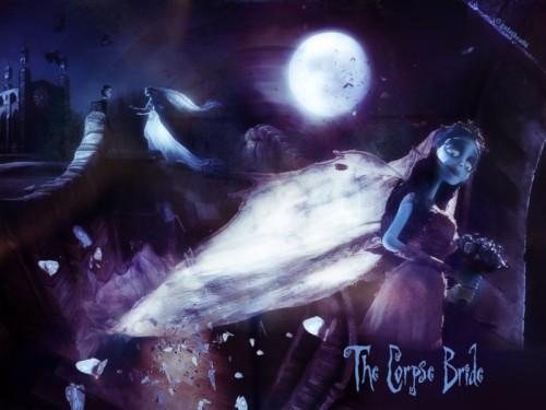 Tim Burton Corpse Bride Wallpapers El Cadáver De La Novia