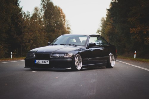 Wallpapers Bmw M3 E36 3 Series Oldschool Black Automobile
