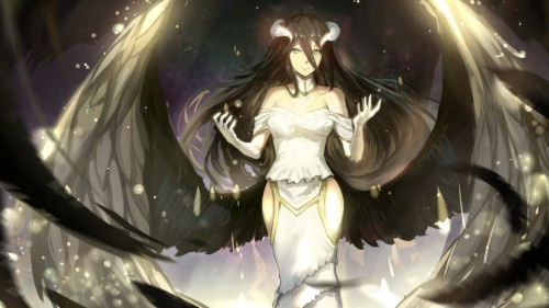 Ainz Ooal Gown And Albedo Overlord 4k Wallpaper Albedo Ainz Ooal Gown Overlord 965319 Hd Wallpaper Backgrounds Download