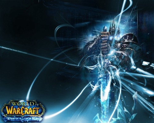 Wrath Of The Lich King Wallpaper World Of Warcraft Arthas