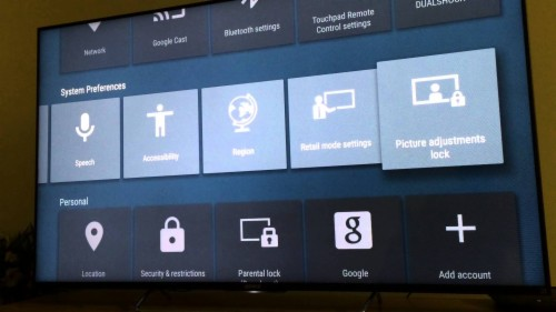 Android Sony Android Tv Settings 1594395 Hd Wallpaper