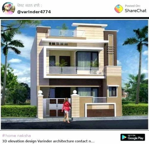Home House Designs Indian Style Pictures Middle Class