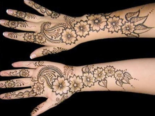 Quick And Easy Mehndi Henna Designs For Hands , Simple Easy