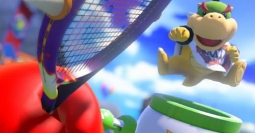Mario Tennis Aces Update Mario Tennis Bowser Junior