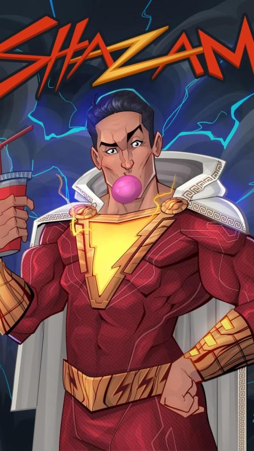 Artwork Shazam Shazam Movie Fan Art 1661054 Hd