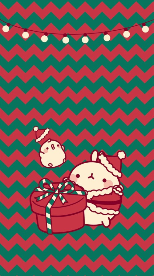 17 177655 kawaii molang christmas wallpaper iphone