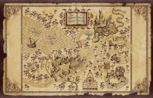 It's just a picture of Harry Potter Marauders Map Printable pertaining to diy