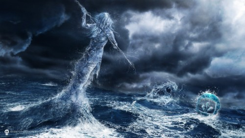 Poseidon Wallpaper Poseidon And Ocean 1718557 Hd