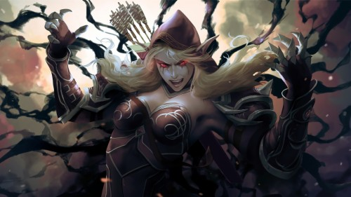 Sylvanas Windrunner Banshee Queen World Of Warcraft Sylvanas Windrunner Battle For Azeroth 1755482 Hd Wallpaper Backgrounds Download