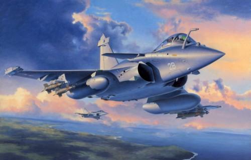 Revell Dassault Rafale Heller 1 48 Rafale 1774032 Hd