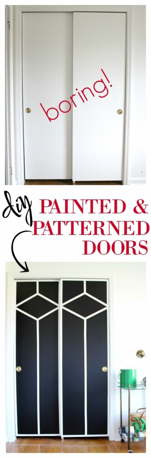 Diy Mirrored Closet Door Makeover Sliding Ideas Home