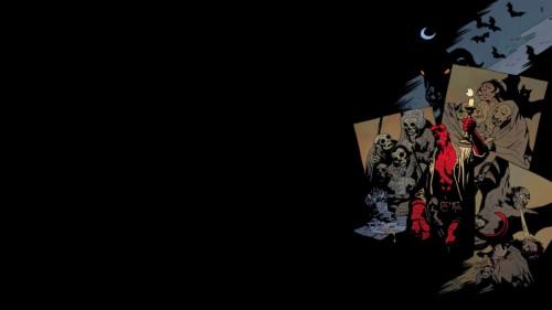 Hellboy Hd Wallpaper Hellboy Mike Mignola Art 187163
