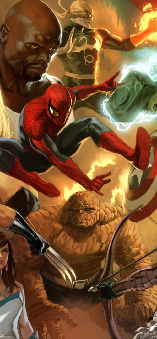 Marvel Wallpaper 4k Iphone 2271986 Hd Wallpaper Backgrounds Download