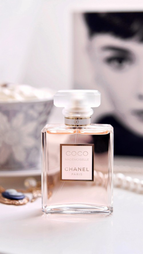 Chanel Perfume Wallpaper Parfum Coco Noir De Chanel