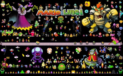 Mario Luigi Wallpaper Mario Und Luigi Bowser S Inside