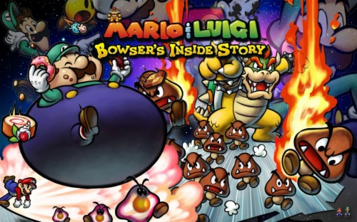 Wallpapers Id Mario And Luigi Bowser S Inside Story