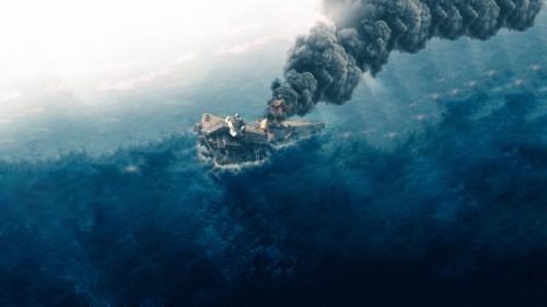 Star Wars Rogue One Star Destroyer Crash 1852242 Hd Wallpaper Backgrounds Download