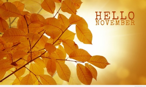 Hello November Images Best Goodbye October Quotes Images