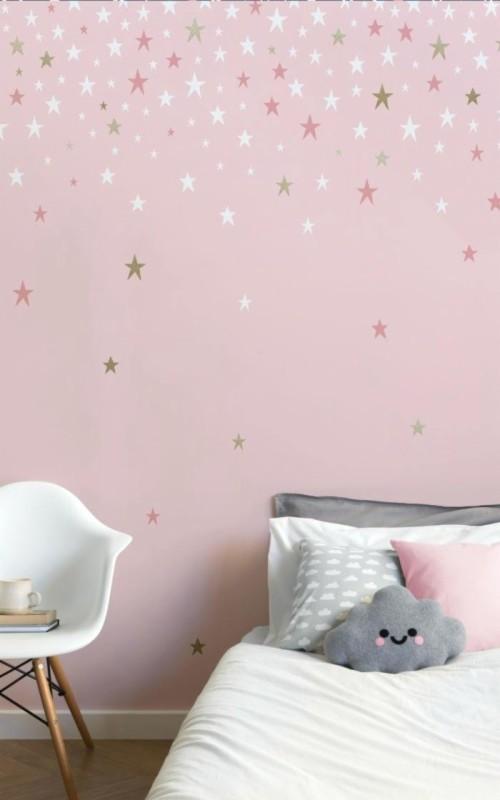 Pink Princess Wallpaper Cute Bedroom Ideas Free - Pink ...