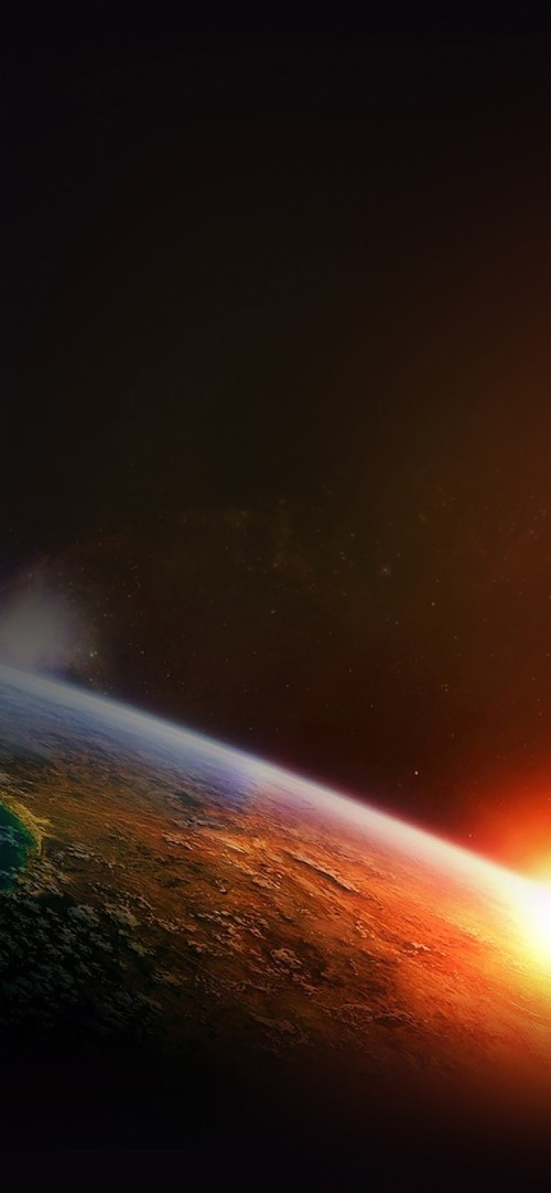 Earth Sunrise From Space Iphone 6 Wallpaper Best Of Planet