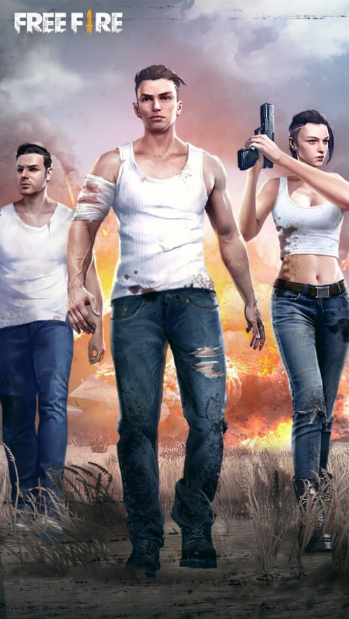 Garena Free Fire Wallpapers For Mobile Phone Garena Free Fire Game 1962902 Hd Wallpaper Backgrounds Download