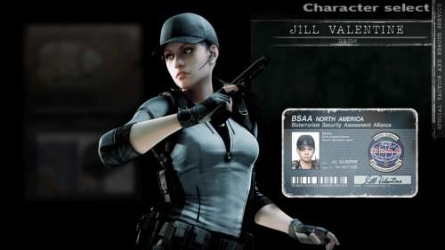 Resident Evil Biohazard Jill Valentine Chris Redfield Jill