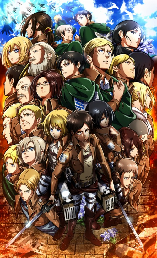 Attack On Titan Scouting Legion Survey Corps 2006767 Hd Wallpaper Backgrounds Download