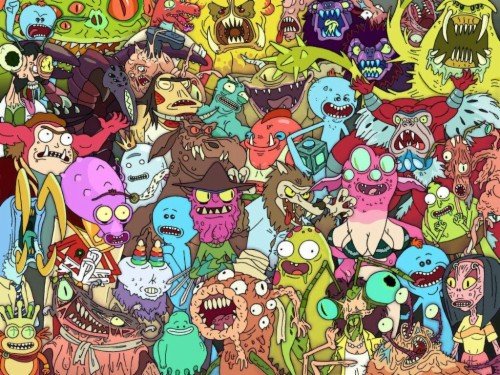 Meeseeks Look At Me Awesome Rick And Morty 24019 Hd Wallpaper Backgrounds Download