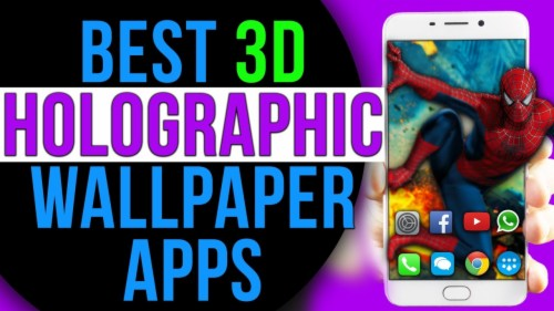 free holographic wallpapers for android