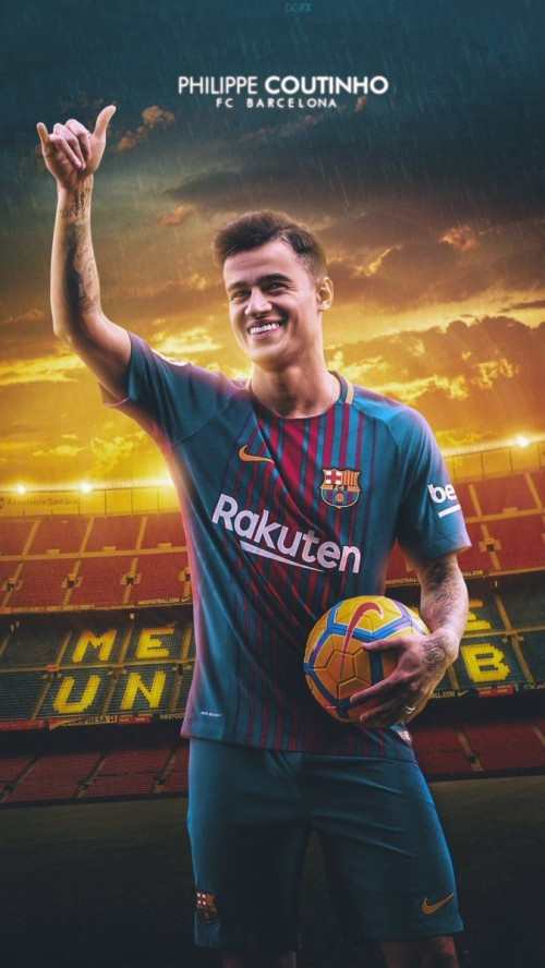 Coutinho Barcelona Wallpaper For Android With Hd Resolution