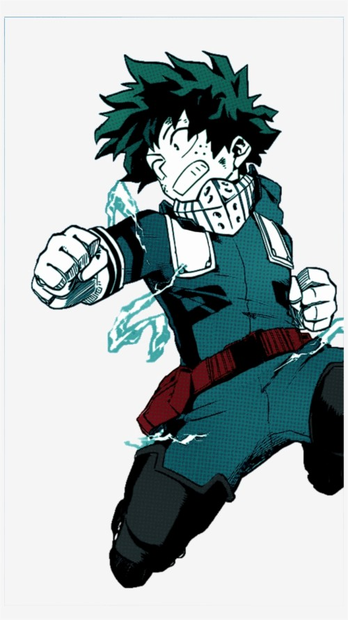 Wallpaper Midoriya Anime Izuku Midoriya Manga Caps