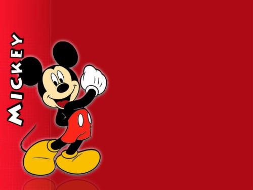 Background Power Point Kartun Disney Mickey Mouse Birthday