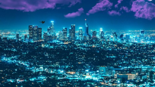 Los Angeles Wallpaper 4k 1360737 Hd Wallpaper