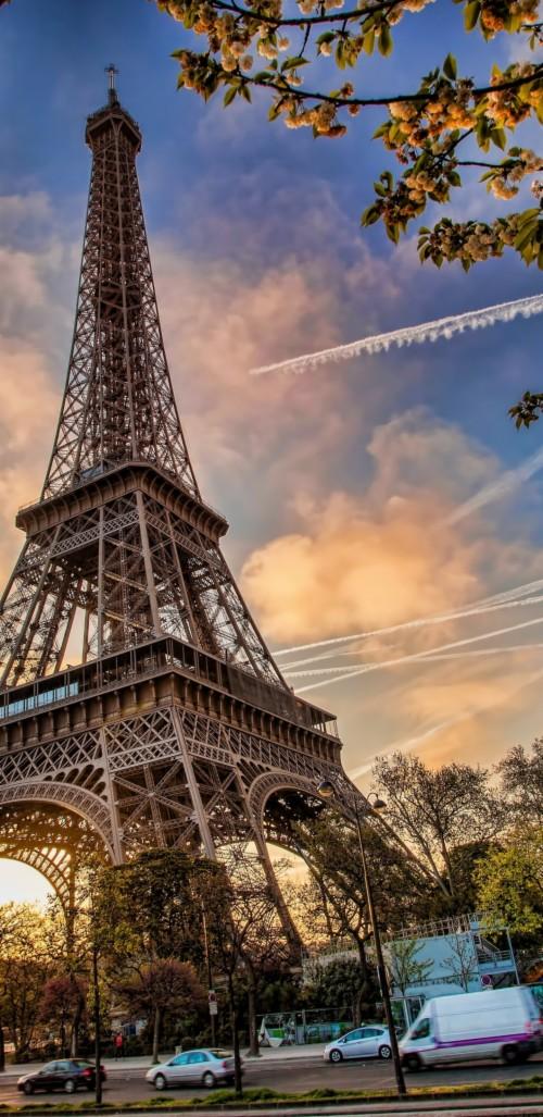 Eiffel Tower Architecture Paris Monument Wallpaper