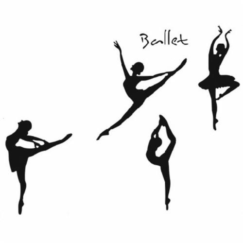 Arthouse Pirouette Pink Ballet Dancer Glitter Wallpaper 668200