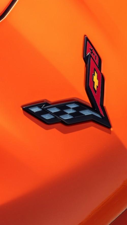 Chevrolet Corvette Logo Hd Mobile Wallpaper Corvette
