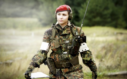 Military Girl German Female Special Forces 2075829 Hd