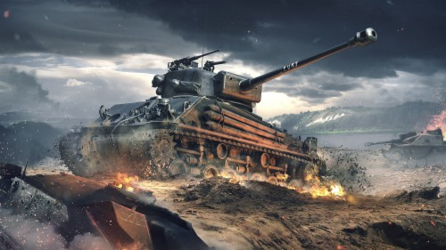 Wallpapers Wot Blitz Tiger In Urban Combat World Of Tanks