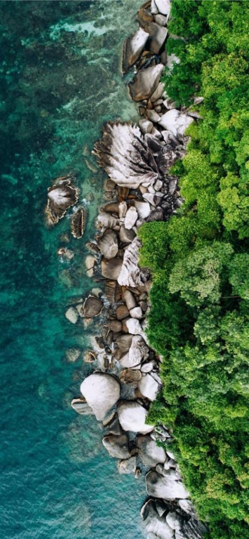 Daku Island General Luna Philippines Iphone X Wallpaper Cb