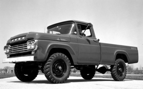 0 Lifted Truck Wallpaper Hd Old Ford Truck Wallpaper 1959 Ford F250 2108477 Hd Wallpaper Backgrounds Download