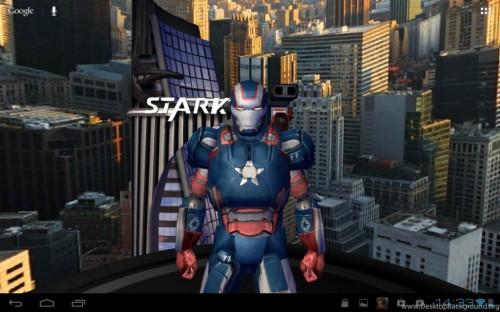 Iron Man Live Wallpaper 3d Effect Smartphone 975278