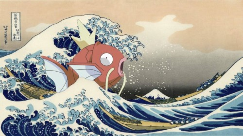 Waves Japanese Artwork The Great Wave Off Kanagawa Great