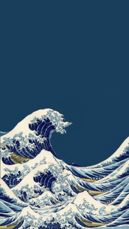 Another One Great Wave Art Hoe Aesthetic Iphone Wallpaper Iphone