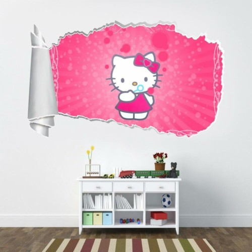 Hello Kitty Wall Decals Medium Size Of Stickers Wallpaper