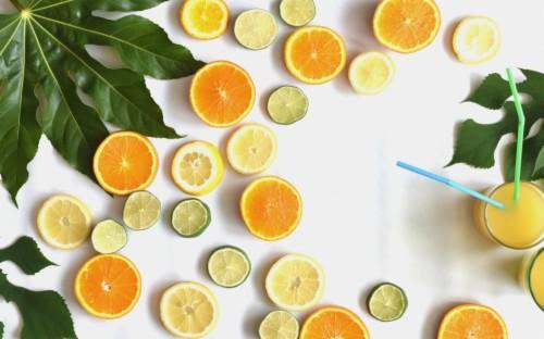 220 2208960 fruits slices lemon and oranges wallpaper lemon slice