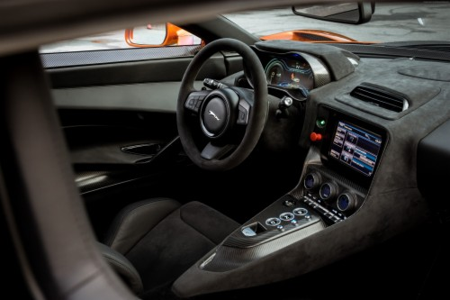 Interior Jaguar C X75 007 Spectre James Bond Voiture